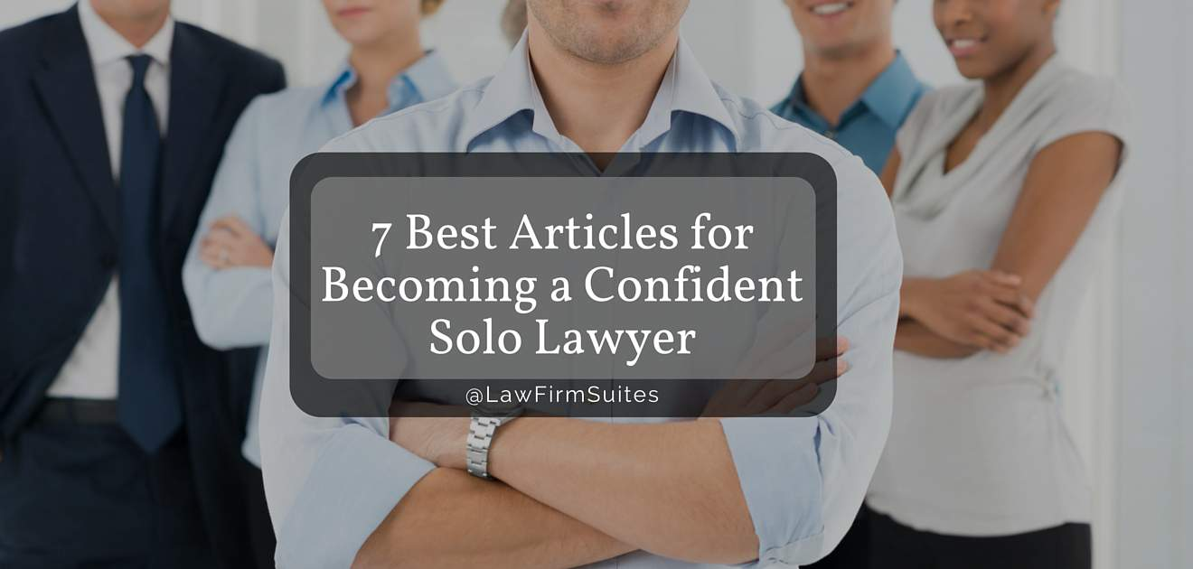 Confident Solo Lawyer